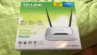 TP-LINK TL-WR841N Router 路由器