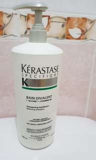 Salon size Kerastase Specifique Shampoo for oil roots sensitised hair