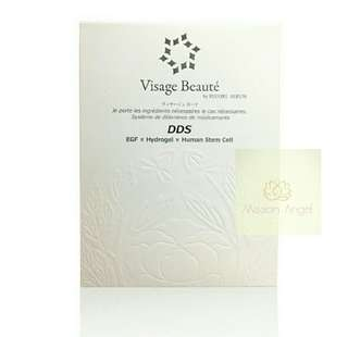日本 Visage Beaute DDS EGF x Hydrogel x Human Stem Cell Mask (每盒3片)