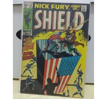 🚚 Nicky Fury, Agent of S.H.I.E.L.D Vol. 1 #13 - 1st appearance of the Super-Patriot (death)