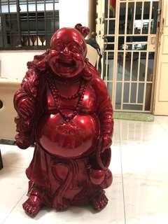 Laughing Buddha (2 statues)
