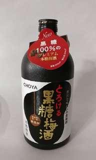 購自日本CHOYA 黑糖梅酒 (720ml)