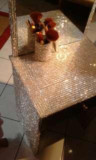 Blink blink shiny stones dressing table
