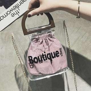 Transparent Jelly Bag