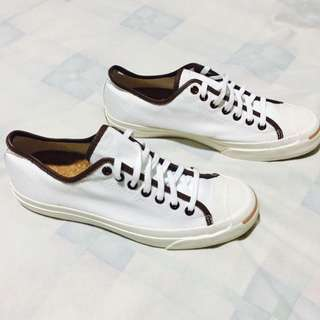 Jack Purcell Tortoise-Khaki Sneakers with Cork Insole
