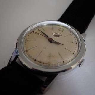 Vintage Heuer dress watch