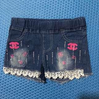 Short pants anak