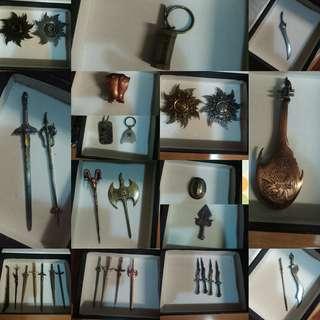 漫畫書絕版武器,劍,配件,共56件,自出價,合理才出售