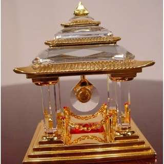 SWAROVSKI JOURNEYS - JAPANESE TEMPLE GOLD #243447 MIB