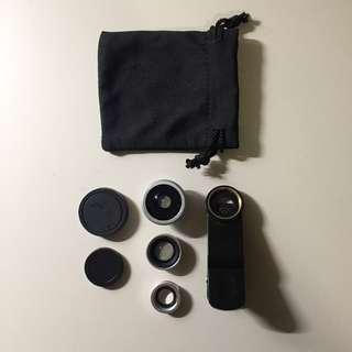 Universal 3in1 Clip lens