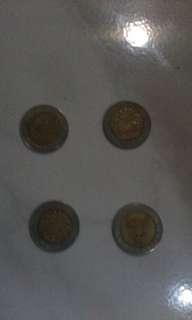 Uang koin gambar kelapa sawit