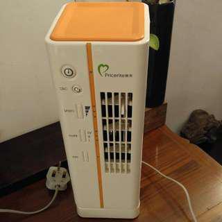 Like New Pricerite Desktop Column Fan With Ion Function 如新的 實惠直立式座枱風扇 負離子功能