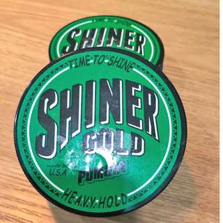 !!!PROMOTION!! Shiner Gold Pomade (Twin Pack)
