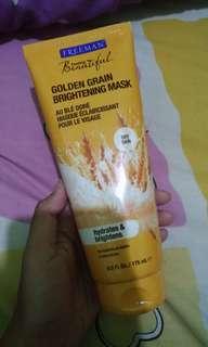 Share in jar freeman mask golden grain 10gr