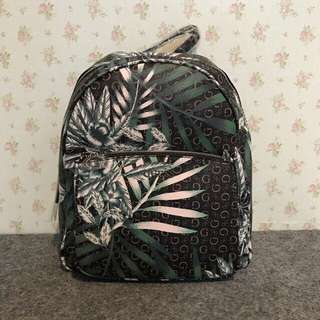 Guess Backpack black leaf