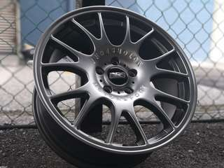 Sport rim 18 inch bbs chr volkswagen golf gti mk5 mk6 mk7 Benz a class c a250 a200 c200 Honda civic