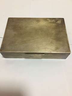 英國純銀煙盒