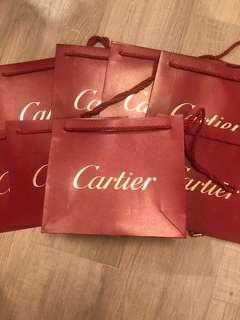 卡地亞紙袋