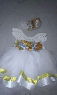 Crochet top Tutu Dress(negotiable price)