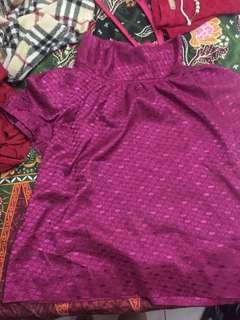 blouse wanita mint
