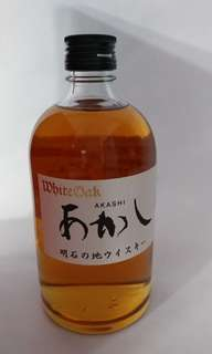 購自日本 AKASHI blended whisky (500ml)