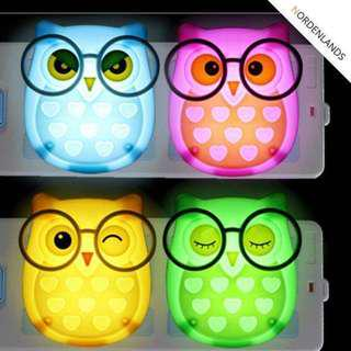 Owl Night LED