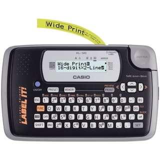 Casio MesinLabel printer KL-120 Label It
