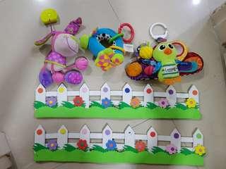 Baby Toys Lamaze & Squeek