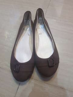 Brown Dollshoes