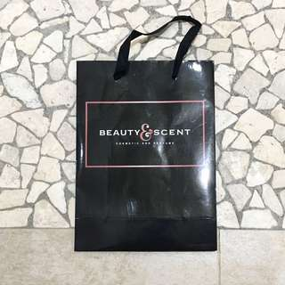 BEAUTY SCENT SHOPPING BAG PAPER BAG