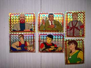 M. A. S. K vintage Stickers (19 stickers)