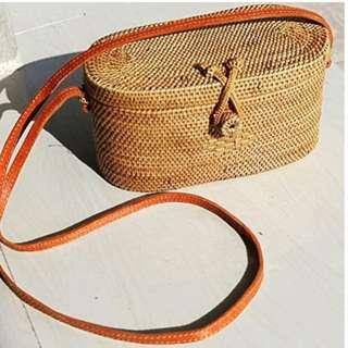 Bali Rattan Bag (Cleo)