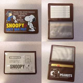 🇯🇵Snoopy card holder (7 cards)