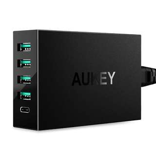 1358. AUKEY Amp USB Charger with USB C Port