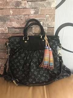 Louis Vuitton Monogram Denim Bag(Authentic)