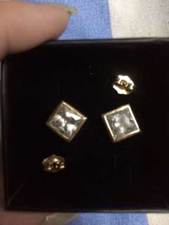 Studd gold plated earring