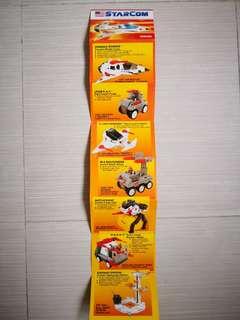 Vintage Starcom toy catalogue