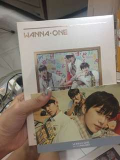 Wannaone 1/x=1 Triple Position 未拆 帶postcard