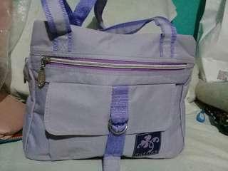 Ruffles purple Bag