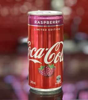 Coca Cola Raspberry Limited Edition