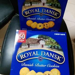 ROYAL DANSK Danish Butter Cookies 908gm or 681gm