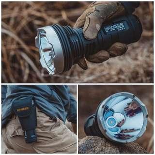 Manker MK35 1420M Thrower Flashlight 2550 Lumens CREE XHP35 HI LED Searchlight