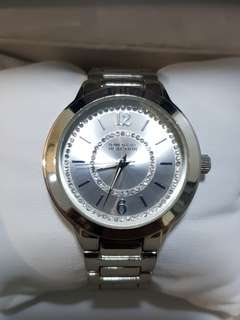 Kenneth Cole watch for ladies with stainless steel bracelet bling bling