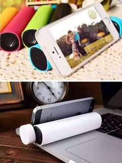 3 in1  Speaker, cp stand, powerbank