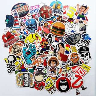 Laptop Luggage Stickers