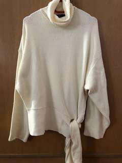 Zara Women Cardigan Knit - White