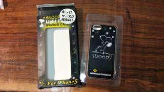 史迪奇手機殼 iPhone 5  應該是全新的