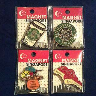 New Singapore Magnets