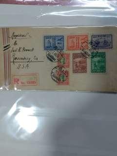 1948年3月27日實寄封