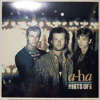 Vinyl LP : A-Ha - Headlines And Deadlines (The Hits Of A-Ha)